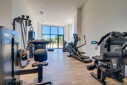 Fitnesscenter och/eller fitnessfaciliteter på Carrossa Hotel Spa Villas