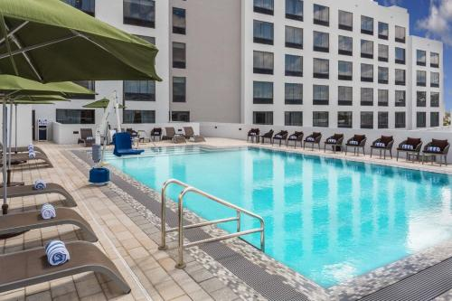 The swimming pool at or near Wyndham Garden Ft Lauderdale Airport & Cruise Port