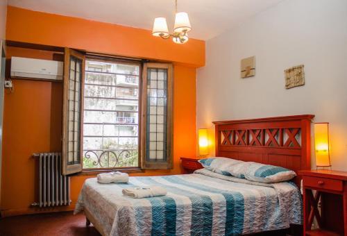 Cama ou camas em um quarto em Play Hostel Arcos