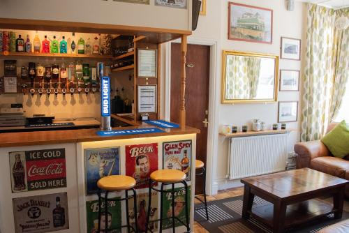 The lounge or bar area at The Seacroft Guest House