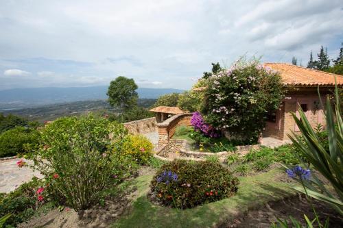 Vista de la piscina de Casas La Primavera o alrededores