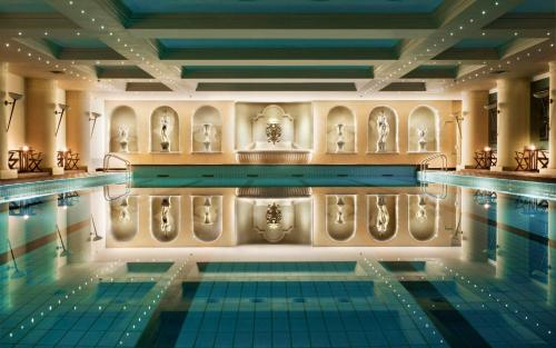 The swimming pool at or near Grand Hotel Dino