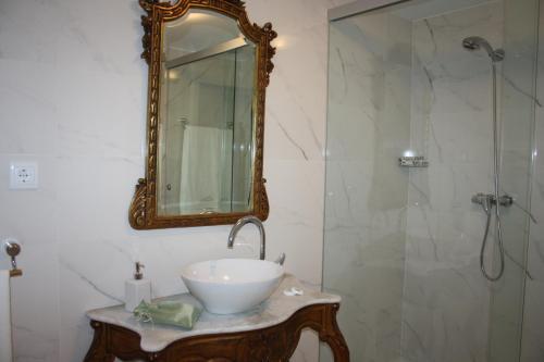 Uma casa de banho em Casa Manuel Espregueira e Oliveira
