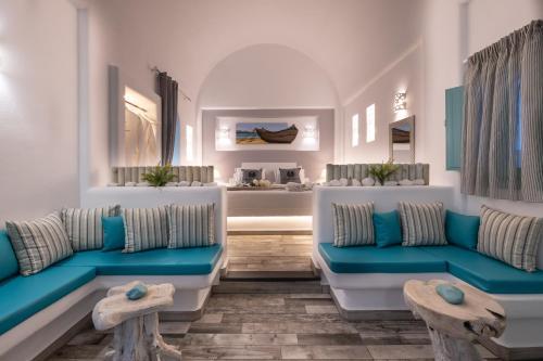 Coin salon dans l'établissement Anastasia Princess Luxury Residence & Spa- Adults Only
