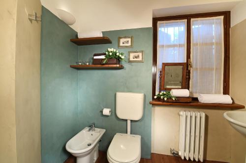 A bathroom at Agriturismo Il Gioco Dell'Oca