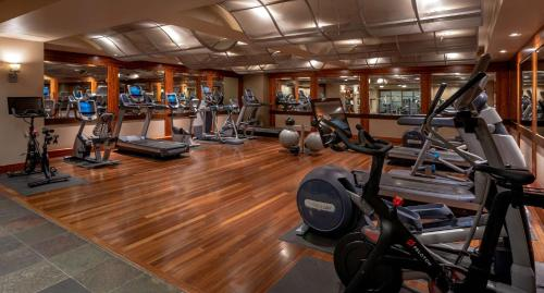 The fitness center and/or fitness facilities at Grand Hyatt Seattle