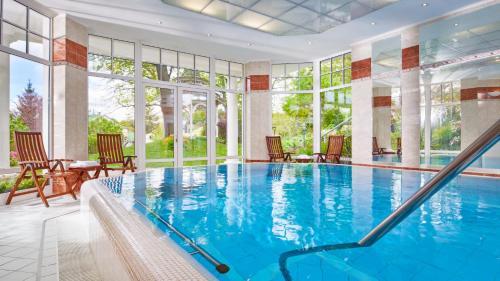 Bazén v ubytování Orea Spa Hotel San Remo nebo v jeho okolí