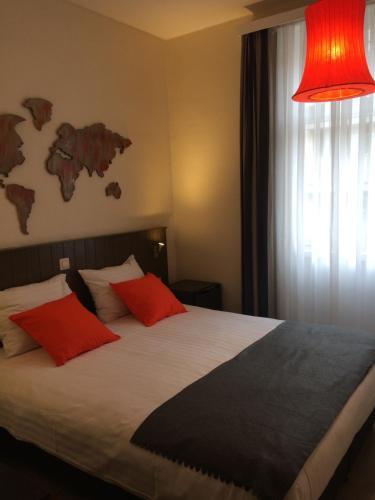 Een bed of bedden in een kamer bij B&B Geste d' Alice