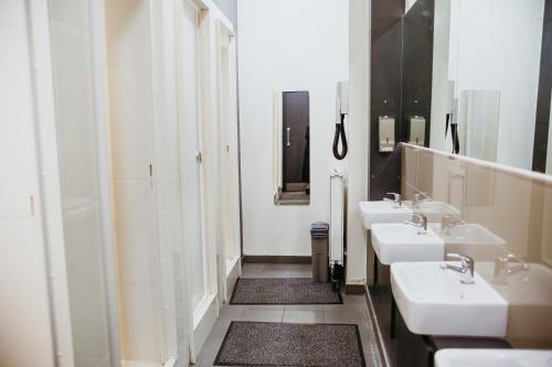 クリンク78 ホステルにあるバスルーム