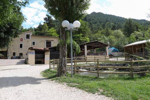 The building where the campground is located