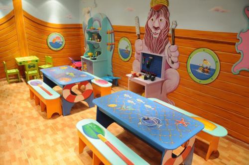 מועדון הילדים ב-מלון לאונרדו פלאזה ירושלים