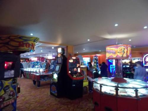 A casino in the holiday park or nearby