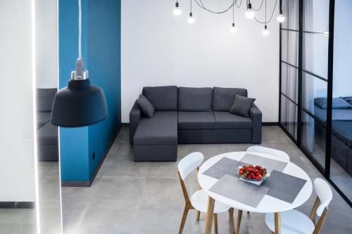 Зона вітальні в Bolshaya Arnautskaya Apartment