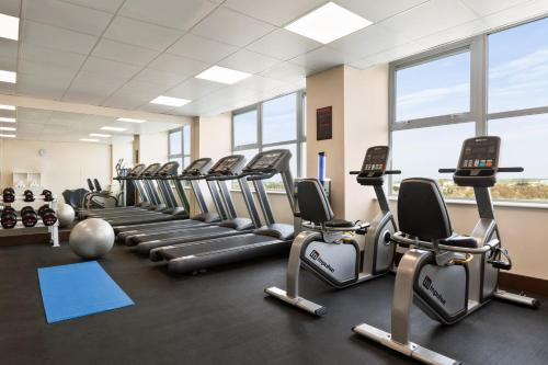 The fitness center and/or fitness facilities at Ramada East Kilbride