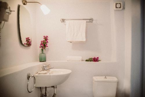 A bathroom at Celestia Traditional Houses