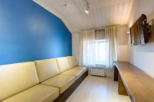 Гостиная зона в Гостинично-банный комплекс Малина