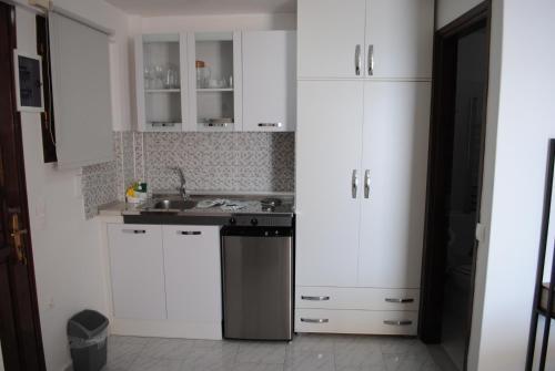 Studios Loukia tesisinde mutfak veya mini mutfak