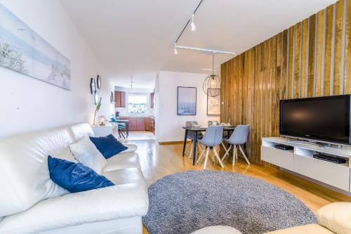 Część wypoczynkowa w obiekcie Rent a Flat apartments - Obrońców Wybrzeża St.