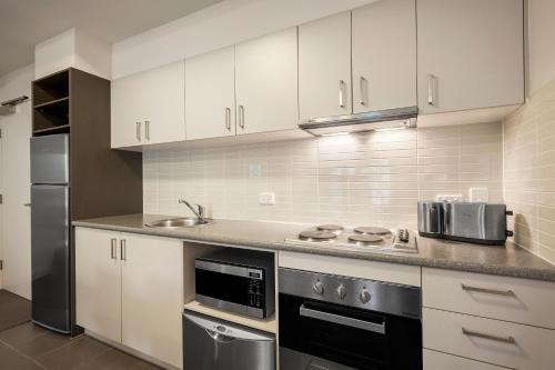 A kitchen or kitchenette at Quest Ipswich