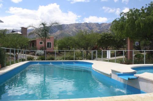 The swimming pool at or near Los Ribazos
