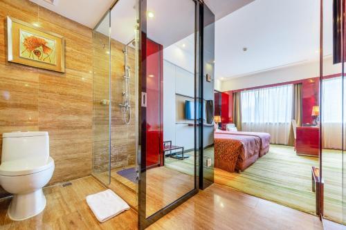 حمام في فندق يانلينغ