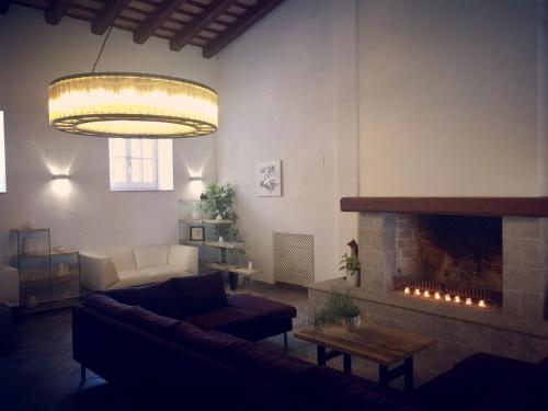 A seating area at Boutique Hotel Can Pico
