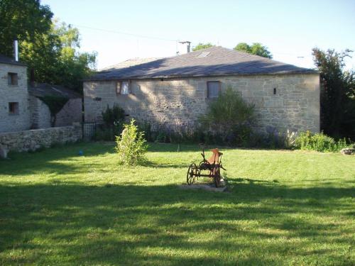 Jardín al aire libre en Casa Caxigueiro