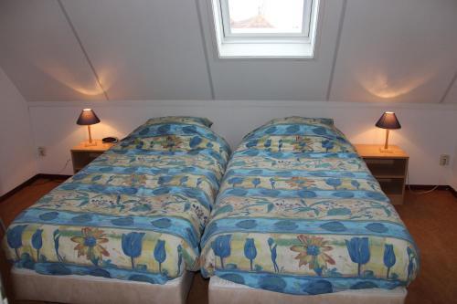 Ein Bett oder Betten in einem Zimmer der Unterkunft Finistère