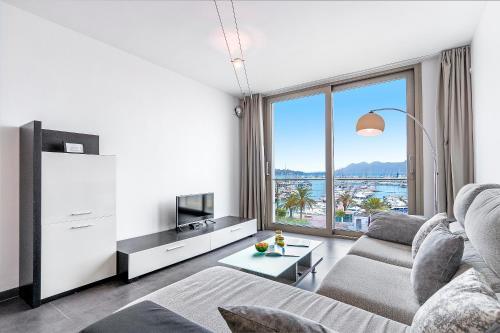 Zona de estar de Apartment Jobi duplex