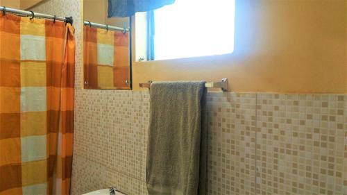 A bathroom at Yard Style