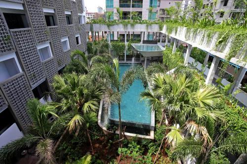A bird's-eye view of Baitong Hotel & Resort Phnom Penh