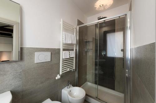 Un baño de Hotel Paganelli