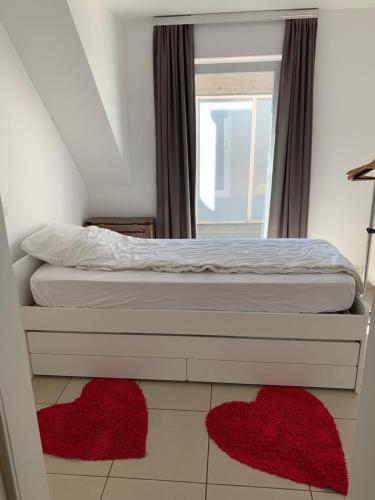 Een bed of bedden in een kamer bij Villa D'este