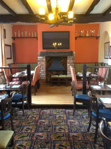 A restaurant or other place to eat at The Black Horse Inn