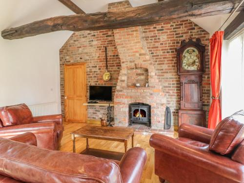 A seating area at Forge Cottage