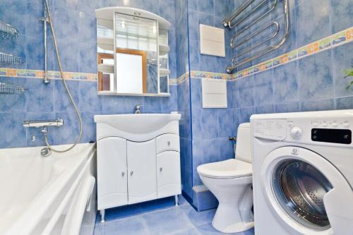 Ванная комната в KvartiraSvobodna - Apartments at Proletarskaya