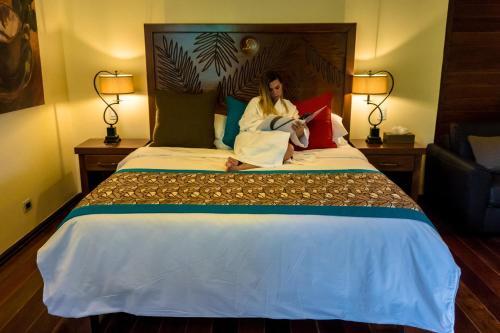 Cama o camas de una habitación en Baldi Hot Springs Hotel & Spa