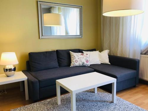 Część wypoczynkowa w obiekcie Sopot Apartment