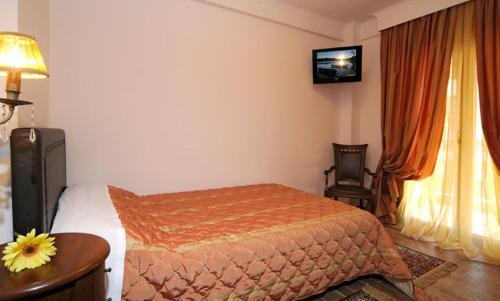 Cama o camas de una habitación en Guesthouse Konstantinos Bakaris