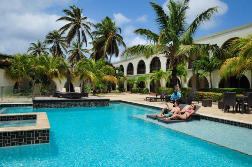 The swimming pool at or near Talk of the Town Beach Hotel & Beach Club by GH Hoteles