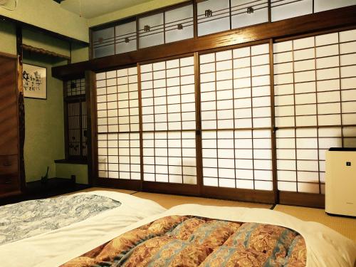 小樽錦園にあるベッド