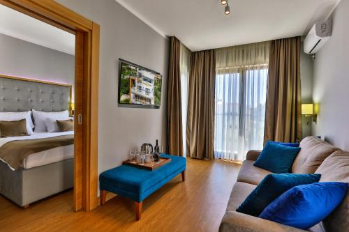 Istumisnurk majutusasutuses Hotel Lusso Mare by Aycon