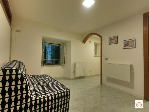 A seating area at Apartment Sara