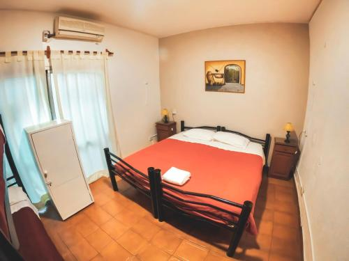 A bed or beds in a room at Hostel Lagares