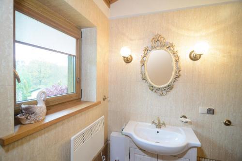 Łazienka w obiekcie Zielone Wzgórza