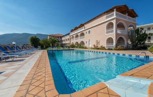 Πισίνα στο ή κοντά στο Hotel Plessas Palace