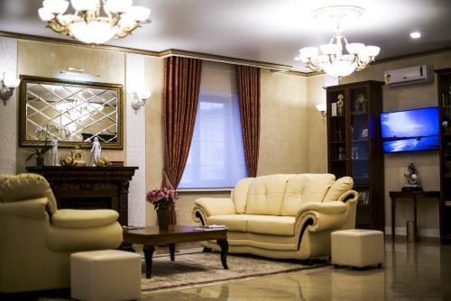 Гостиная зона в Премьер Отель