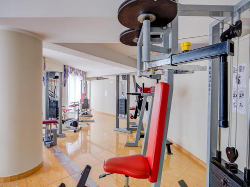 Das Fitnesscenter und/oder die Fitnesseinrichtungen in der Unterkunft Hotel San Pietro