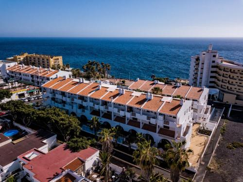 A bird's-eye view of Apartamentos Albatros