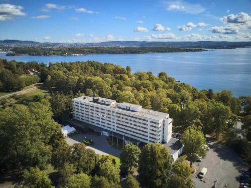 A bird's-eye view of Radisson Blu Park Hotel, Oslo